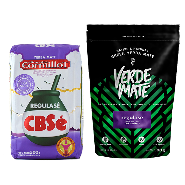 CBSe Regulase + Verde Mate Regulase 2x500g=1kg
